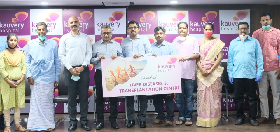 Liver Diseases and Transplantation Centre launched at Kauvery Hospital