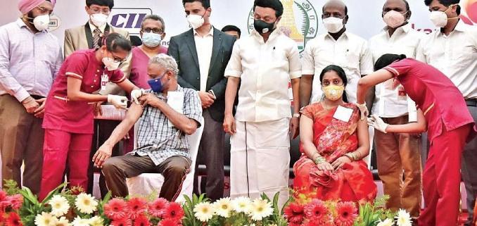 Free Covid Vaccination program at Kauvery Hospital Chennai