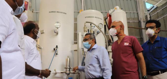 Kauvery Hospital is now self-reliant
